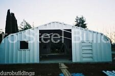 DuroSPAN Steel 32x50x18 Metal Garage Boat &RV Storage Workshop Buildings DiRECT