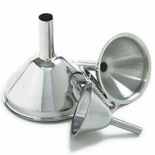 Norpro Stainless Steel Mini Funnels, 3 Pieces - 252