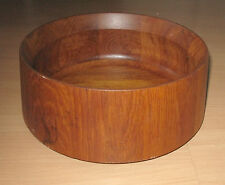 Vintage Dansk Denmark Staved Teak Wood Bowl Jens Quistgaard Danish Modern