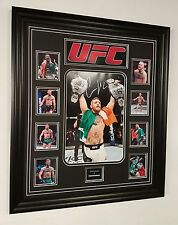*** rare conor mcgregor signed photo autograph display **