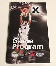 2009-2010 Crosstown Shootout UC XU Cincinnati Bearcats vs Xavier Game Program