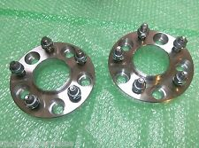 2 X CUSTOM HUBCENTRIC WHEEL SPACERS ADAPTER 5x114.3 67.1 CB 12X1.5 20MM 5X4.5