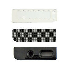 Genuine iPhone 5S Rubber Earpiece Mic Bracket Holder w/ Mesh & Adhesive Original