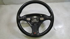 00-02 Audi A4 S4 B5 OEM Leather Steering Wheel Tiptronic 3-Spoke Sport A4 01