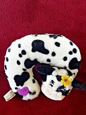 Little Brownie Bakers Daisy Belle Cow Plush Travel Neck Pillow  FREE SHIP