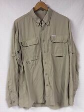 GUC Men's COLUMBIA GRT OmniDRY Button UP Shirt Fishing Hiking VENTED X-Large XL