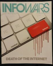 Internet Take over Info Wars Magazine Issue10 June 2014 Alex Jones Prison Planet