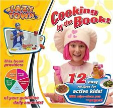 Lazy Town Cooking by the Book - Fun Childrens Kids Healthy Cookery  - New