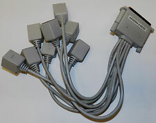 78-PIN 4 ROWS TO 8X P1 TO P8 RJ45 CONNECTOR CABLE 4000084 A 06 03