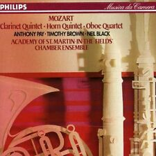 Clarinet & Horn Quintets - Academy Of St. Martin (1989, CD NEUF) PAY/Brown/Black