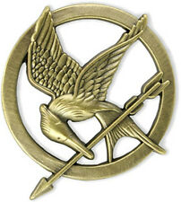 Katniss Everdeen Mockingjay Pin - HUNGER GAMES Movie series prop replica