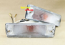 Front Bumper Turn Signal Lights For 85-98 Mazda B2000 B2200 B2600 Magnum Pickup