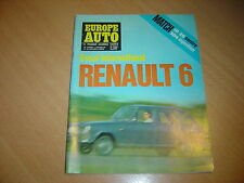 Europe Auto N° 22 Citroën ID 20 / 504 injection.Renault 6.Jensen.Mercedes 250