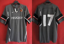 Maillot Rugby NIKE Stade Toulousain Peugeot Toulouse ST Porté n° 17 - XL