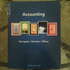 Accounting by Walter T. Harrison Jr., Charles T. Horngren and M. Suzanne...