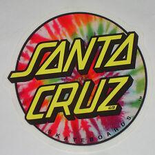 SANTA CRUZ - T-shirt Con Pittura Dot adesivo / Skateboard Snowboard Surf - 7.5cm