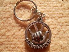 """VW """"NO WORRIES"""" KEYRING CAST IN ENGLISH PEWTER"""