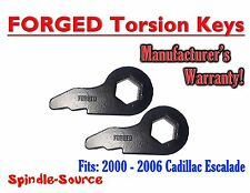 "2000 - 2006 Cadillac Escalade 1"" 3in Torsion Keys Lifting Leveling FORGED 4WD"
