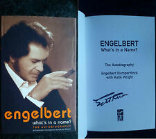 SIGNED What's In A Name HB 1/1 2004 Engelbert Humperdinck autographed