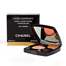 Chanel Joues Contraste Powder Blush Peach Orange Blusher 180 Caresse - DAMAGED