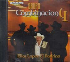 GRUPO COMBINACION 4 ELIAS LOPEZ EL PADRINO CD NEW SEALED