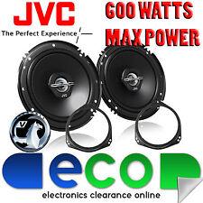 Vauxhall Tigra 94-14 JVC 16cm 6.5 Inch 600 Watts 2 Way Front Door Car Speakers