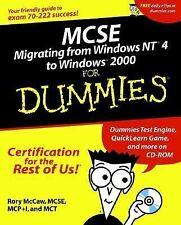 MCSE Migrating from Windows NT 4 to Windows 2000 For Dummies (For Dummies (Compu