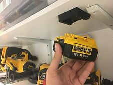 Cinque NERO DEWALT XR battery mount per BRUSHLESS Multi tool multitool BATTERIE