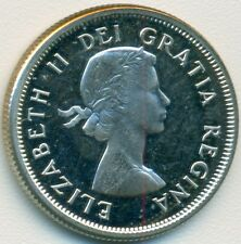 1964 CANADA QUARTER, CHOICE PROOFLIKE BU FROM MINT SET, GREAT PRICE!