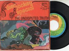 UFO'S disco 45 giri THE UNDISPUTED TRUTH + GOT TO GET MY HANDS ON Made in ITALY