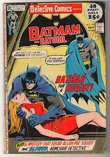 DC Comics  DETECTIVE VGF BATMAN silver age  #417  Mid grade 1971