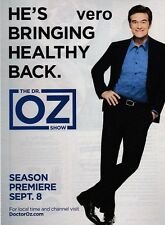 DR Mehmet OZ 2014 magazine print ad page report clipping advert TV celebrity