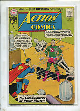 ACTION COMICS #278 (4.0) THE SUPER-POWERS OF PERRY WHITE! 1961