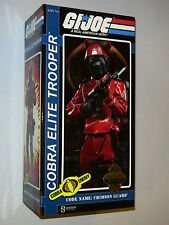 Sideshow G.I. Joe Crimson Guard 1/6 Scale Action Figure Exclusive NEW MIMB