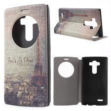 """LG g4 Housse portable housse sac Case """"paris par t 'aime"""" tour Eiffel multicolores"""