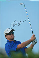 George COETZEE SIGNED Autograph 12x8 Photo AFTAL COA South African Golf WINNER