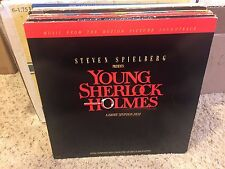 Young Sherlock Holmes SOUNDTRACK vinyl LP Bruce Broughton MCA 1985