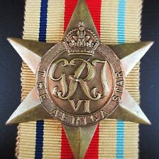 GENUINE WW2 AUSTRALIAN BRITISH AFRICA CAMPAIGN  MEDAL ORDER FIGHTING GERMANS (0)