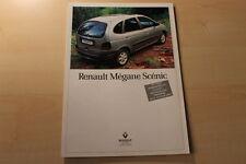 66656) Renault Megane Scenic Prospekt 10/1996