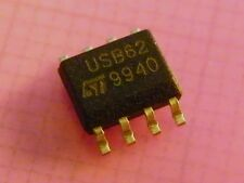10x USB6B1 TVS Diode Array for Data Line protection, ST Microelectronics