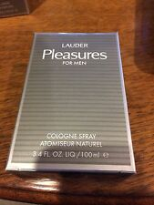 PLEASURES * Estee Lauder * Cologne for Men * 3.4 oz * BRAND NEW IN RETAIL BOX