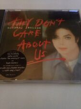Michael Jackson - They Don't Care About Us CD rare 8 Track Version