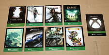 Xbox One Gamescom 2015 Complete Card Set + Completionist Card Halo Forza Fable