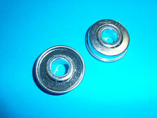"""2 PACK FLANGED BALL BEARINGS FITS GO CARTS WINDMILLS TILLERS 1/2""""X1 3/8"""" BB1002"""