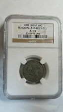 China Fengtien 20 Cents, Y-91.1 / L&M-485, 1904, Large Size, NGC XF40