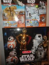 EXCLUSIVE STAR WARS DROID PACK PLUS 2 MICROMACHINE SETS, ALL UNOPENED