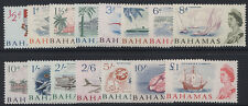 BAHAMAS- 1965 QE SET TO £1 UM (MNH). SG.247-261  (REF.A22)