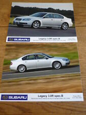SUBARU LEGACY 3.0R SPEC B ORIGINAL PRESS  PHOTOS X 2