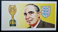 Sir Alf Ramsey   England World Cup Winning Manager  Vintage Colour  Card ##  EXC
