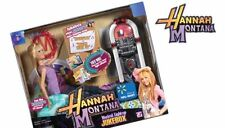LIGHT-UP TOY JUKEBOX Plays 2 Songs! Includes Doll Disney Hannah Montana Neat NIB